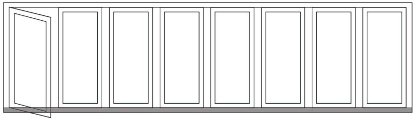 Pintu Lipat | Pintu UPVC Panorama